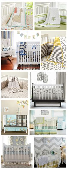 #Baby bedding and cute #crib ideas.  Perfect for new moms and #parents.