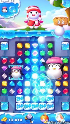 Ice Crush 2 – Winter Surprise v1.0.8 [Mod]Requirements: 2.3 and upOverview: Ice Crush is a brand new game from the makers of Ice Crush!  Switch and swap, match 3 ice crystals, combine the square match, challenge snow...