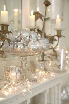 51 Exquisito Totalmente White Christmas Vintage Inspiración | DigsDigs