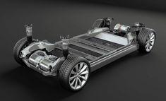 Tesla Model X Platform Cutaway #boulderinn