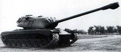 T43 Heavy Tank - after further development of T29, T30, T32 and T34 heavy tanks, command of US Army decided to project new heavy tank armed in 120 mm gun.