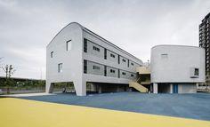 Gallery of Vanke Experimental Kindergarten / Atelier Liu Yuyang Architects - 1