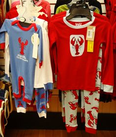 Clothing for your little lobsters.