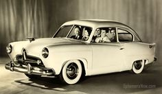 """Small, economy ░ 1951 Kaiser """"Henry J"""" / Available at Sears & Roebucks Department Stores"""