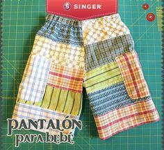 Pantalón para bebé #bebe #moda #yolohice #creatividad – Singer México