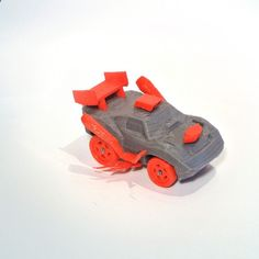 3DRacers - RC Car, Arduino-compatible and smartphone enabled! #3D #3Dprint #3Dprinting [more pics on Cults website]