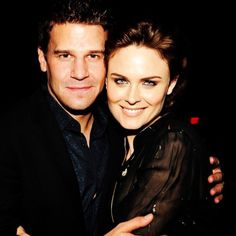Seely Booth and Temperance Brennan