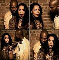 Aaliyah & DMX. I always felt bad for DMX ever since Aaliyah next leveled on us all.