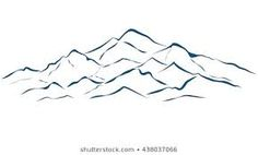 mountain outline graphic - Google Search Mountain Outline, Graphics, Google Search, Graphic Design, Printmaking
