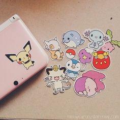 Cute stickers Pokemon