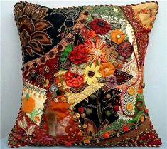 "Cathy Kizerian - ""Autumn Glory"" pillow"