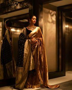 South Indian Actresses in Saree – 27 Beautiful look in Saree Indian Wedding Gowns, Indian Bridal Outfits, Indian Bridal Fashion, Indian Designer Outfits, Indian Dresses, Indian Fashion Trends, Indian Beauty Saree, Indian Sarees, Indian Photoshoot
