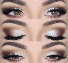 Pretty eye color for fall. #eyemakeup #fall