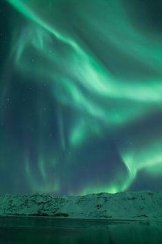 The scream....Aurora Borealis in Iceland by   Arnar Bergur Guðjónsson