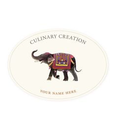 Clancy - Oval Kitchen Labels