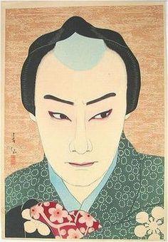 名取 春仙(なとり しゅんせん、1886年(明治19年)2月7日 - 1960年(昭和35年)3月30日)は、明治から昭和時代の版画家、挿絵画家、浮世絵師。 初代中村鴈治郎 坂田藤十郎 大正14年