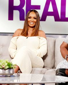 """19k Likes, 128 Comments - Evelyn Lozada (@evelynlozada) on Instagram: """"#Repost @comiclonilove with  Today on #TheReal my girl @evelynlozada stops by!!!!! Styled by:…"""""""