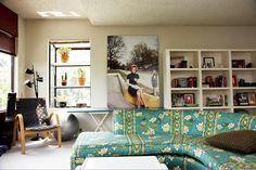 vintage floral sofa - william eggleston photo