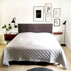 Sengegavl + billeder over seng