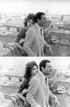 Marcello Mastroianni and Sophia Loren, 1964