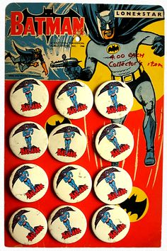 Batman Buttons (1966)