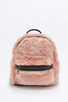 Pink Faux Fur Small Mini Backpack Rucksack Shoulder bag Chain Purse for Sale in Compton, CA - OfferUp Mini Mochila, Rucksack Backpack, Backpack Purse, Fashion Bags, Fashion Backpack, Mochila Adidas, Cute Mini Backpacks, Pink Faux Fur, Fake Fur