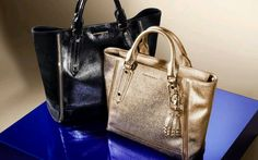Burberry Totes in lustrous patern..