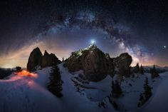 Awesome Wallpapers - wallhaven.cc High Quality Wallpapers, Aurora, Waves, Camping, Snow, Mountains, Landscape, Night, World