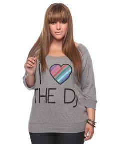 I [Heart] The Dj Top - Forever 21+ - 2000027778 - Forever21 - StyleSays