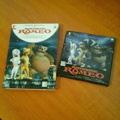 ROADSIDE ROMEO DVD & SOUNDTRACK RARE DISNEY BOLLYWOOD ANIMATED MOVIE ABOUT TWO DOGS THAT FALL IN LOVE. SOUNDTRACK INCLUDED! MOVIE HAS ENGLISH SUBTITLES AND IS IN URDU LANGUAGE I BELIEVE. Other