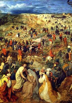 Pieter Bruegel the Elder | The Road to Calvary