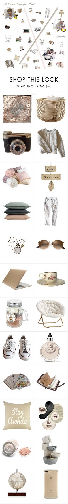 """""""1.5k Cosmic Scavenger Hunt // Cover Set"""" by lola-twfanmily ❤ liked on Polyvore featuring Anine Bing, Design Within Reach, OneTeaspoon, GET LOST, Tucano, PBteen, Converse, Valentino, Hermès and John Timberland"""