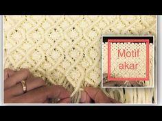 Cara membuat tas dari tali kur motif akar - YouTube