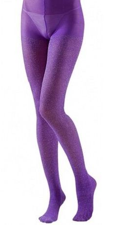 Ladies Full Length Blue or Pink Opaque Tights Fancy Dress Accessories