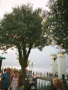 Italy, Nesso , lake Como, sky, water, mountain Journey, bellagio