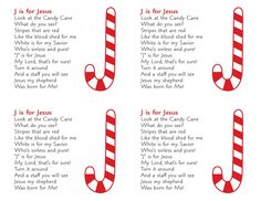 7 Best Images of Candy Cane Poem Printable Tag - Grinch Candy Cane Poem Printable Tag, Legend of the Candy Cane Story Printable and Christmas Candy Cane Poem Printable Christmas Jesus, Preschool Christmas, Christmas Activities, Christmas Crafts For Kids, Christmas Candy, Christian Christmas Crafts, Christmas Sayings, Christmas Tables, Holiday Tables