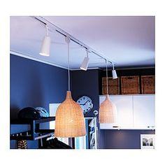 IKEA - LERAN, Závesná lampa, , Každé ručne vyrobené tienidlo je unikátne.Poskytuje priame aj hlavné osvetlenie a skvele sa hodí na osvetlenie jedálenského stola.