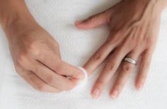 dissolvant ongles vernis