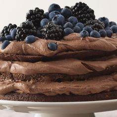 Chocolate Heaven, Chocolate Cake, Cake Gallery, Piece Of Cakes, Sweet And Salty, Something Sweet, No Bake Desserts, Yummy Cakes, Sweet Recipes