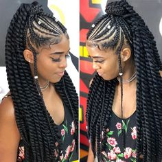 10 Cornrow Hairstyles for Girls to Look Fab – Child Insider Braided Cornrow Hairstyles, Braided Hairstyles For Black Women, African Braids Hairstyles, Girl Hairstyles, Protective Hairstyles, Cornrow Ponytail, Trending Hairstyles, Black Girl Braids, Braids For Black Hair