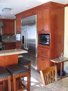 I Like The Microwave Mounted In The Wall Of Cupboards. Make Sure You Put A. Microwave  CabinetMicrowave OvenCabinet ...