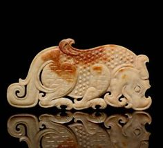 Jade tiger. China, early Han Dynasty, 3rd to 2nd cent. BC