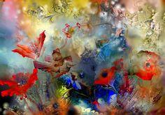 'Mohn+2'+von+Natalia+Rudzina+bei+artflakes.com+als+Poster+oder+Kunstdruck+$16.63