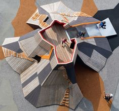 The Volcano at in Aarhus Denmark. The Volcano at Modern Playground, Playground Swings, Park Playground, Natural Playground, Playground Design, Outdoor Playground, Children Playground, Tree House Designs, Parking Design