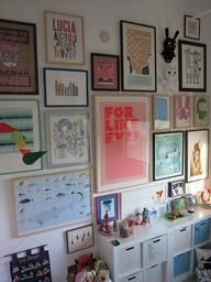 Kid Spaces: Gallery Walls by Jennifer Wright