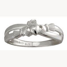 Claddagh ring - Loyalty. Friendship. Love.