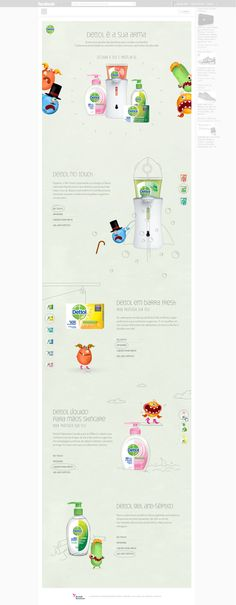 Dettol Ugly Germs on Behance