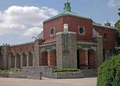 Well built, well designed WPA Buildings - Toledo Zoo Aquarium - Toledo, OH Zoo Architecture, Works Progress Administration, Reptile House, Cedar Point, Ohio Usa, Toledo Ohio, Altars, Beautiful Buildings, Family History