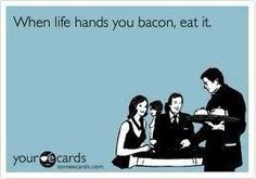 You can't beat bacon!