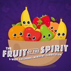 Free Sunday School Lessons, Sunday School Classroom, Primary School Teacher, Teacher Notes, Bible Study For Kids, Christian School, Fruit Of The Spirit, Kids Church, Bible Lessons